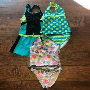 Other - Swim time!  Bundle of sz 8 swimsuits